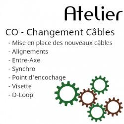Changement de câbles Arc à...